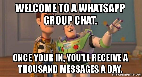 Ten Kinds of People In WhatsApp Groups